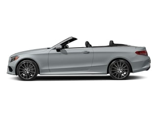 Diamond Silver Metallic 2017 Mercedes-Benz C-Class Pictures C-Class Convertible 2D C300 AWD I4 Turbo photos side view