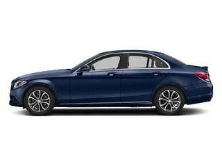 Brilliant Blue Metallic 2017 Mercedes-Benz C-Class Pictures C-Class Sedan 4D C300 I4 Turbo photos side view