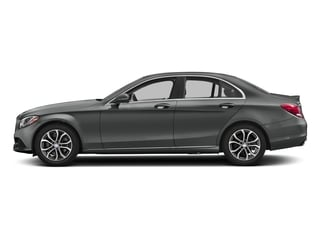 Selenite Grey Metallic 2017 Mercedes-Benz C-Class Pictures C-Class Sedan 4D C300 I4 Turbo photos side view