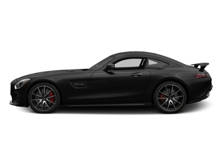 Magnetite Black Metallic 2017 Mercedes-Benz AMG GT Pictures AMG GT S 2 Door Coupe photos side view