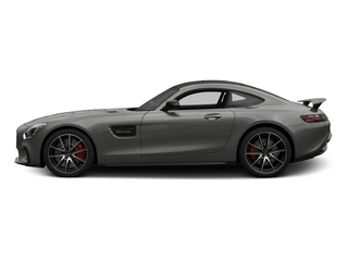 designo Magno Selenite Grey (Matte Finish) 2017 Mercedes-Benz AMG GT Pictures AMG GT S 2 Door Coupe photos side view