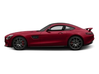 Mars Red 2017 Mercedes-Benz AMG GT Pictures AMG GT S 2 Door Coupe photos side view