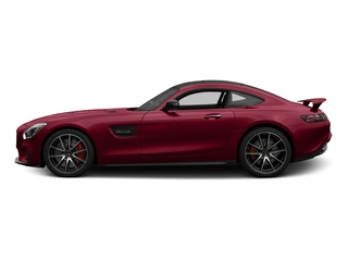 designo Cardinal Red Metallic 2017 Mercedes-Benz AMG GT Pictures AMG GT S 2 Door Coupe photos side view