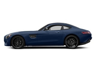 Brilliant Blue 2017 Mercedes-Benz AMG GT Pictures AMG GT 2 Door Coupe photos side view