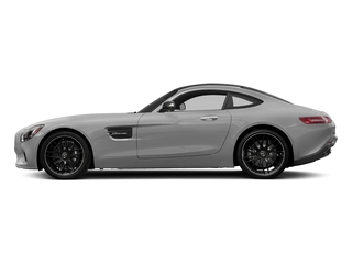 designo Magno Iridium Silver (Matte Finish) 2017 Mercedes-Benz AMG GT Pictures AMG GT 2 Door Coupe photos side view