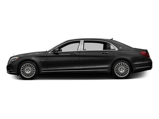Obsidian Black Metallic 2017 Mercedes-Benz S-Class Pictures S-Class Maybach S 600 Sedan photos side view