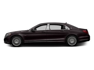 Ruby Black Metallic 2017 Mercedes-Benz S-Class Pictures S-Class Maybach S 600 Sedan photos side view