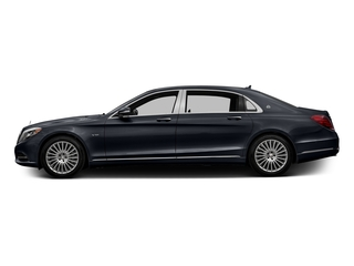 Anthracite Blue Metallic 2017 Mercedes-Benz S-Class Pictures S-Class Maybach S 600 Sedan photos side view