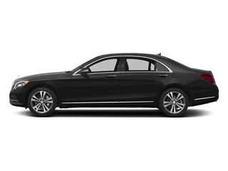 Obsidian Black Metallic 2017 Mercedes-Benz S-Class Pictures S-Class Sedan 4D S550e V6 Turbo photos side view
