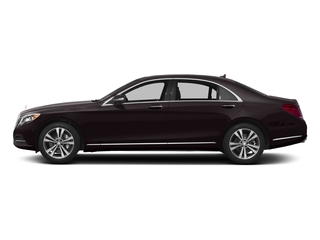 Ruby Black Metallic 2017 Mercedes-Benz S-Class Pictures S-Class Sedan 4D S550e V6 Turbo photos side view