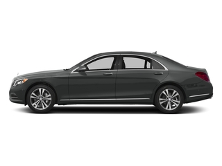 Selenite Grey Metallic 2017 Mercedes-Benz S-Class Pictures S-Class Sedan 4D S550e V6 Turbo photos side view