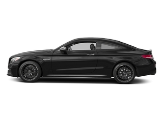 Obsidian Black Metallic 2017 Mercedes-Benz C-Class Pictures C-Class Coupe 2D C63 AMG V8 Turbo photos side view