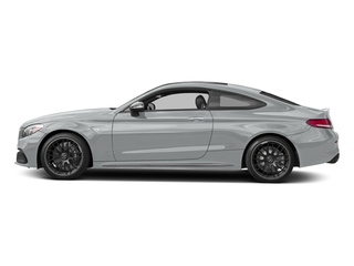 Iridium Silver Metallic 2017 Mercedes-Benz C-Class Pictures C-Class Coupe 2D C63 AMG V8 Turbo photos side view
