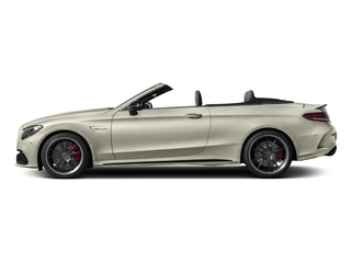 Polar White 2017 Mercedes-Benz C-Class Pictures C-Class Convertible 2D C63 AMG S V6 Turbo photos side view