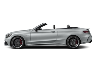 Iridium Silver Metallic 2017 Mercedes-Benz C-Class Pictures C-Class Convertible 2D C63 AMG S V6 Turbo photos side view