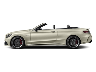 designo Diamond White Metallic 2017 Mercedes-Benz C-Class Pictures C-Class Convertible 2D C63 AMG S V6 Turbo photos side view
