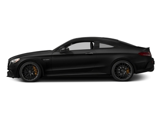 Obsidian Black Metallic 2017 Mercedes-Benz C-Class Pictures C-Class AMG C 63 S Coupe photos side view