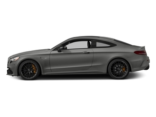 Selenite Grey Metallic 2017 Mercedes-Benz C-Class Pictures C-Class AMG C 63 S Coupe photos side view