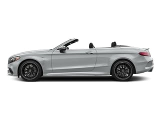 Iridium Silver Metallic 2017 Mercedes-Benz C-Class Pictures C-Class AMG C 63 Cabriolet photos side view