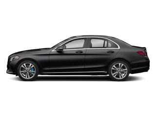 Black 2017 Mercedes-Benz C-Class Pictures C-Class C 350e Sedan photos side view