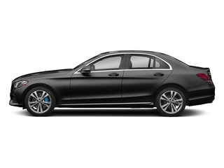 Obsidian Black Metallic 2017 Mercedes-Benz C-Class Pictures C-Class C 350e Sedan photos side view