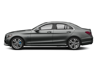 Selenite Grey Metallic 2017 Mercedes-Benz C-Class Pictures C-Class C 350e Sedan photos side view