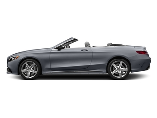 AMG Alubeam Silver 2017 Mercedes-Benz S-Class Pictures S-Class Convertible 2D S63 AMG AWD V8 Turbo photos side view