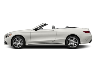 designo Magno Cashmere White (Matte Finish) 2017 Mercedes-Benz S-Class Pictures S-Class Convertible 2D S63 AMG AWD V8 Turbo photos side view