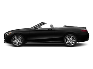 Obsidian Black Metallic 2017 Mercedes-Benz S-Class Pictures S-Class Convertible 2D S63 AMG AWD V8 Turbo photos side view