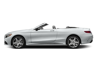 Iridium Silver Metallic 2017 Mercedes-Benz S-Class Pictures S-Class Convertible 2D S63 AMG AWD V8 Turbo photos side view