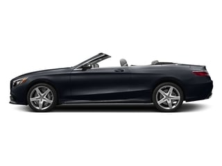 Anthracite Blue Metallic 2017 Mercedes-Benz S-Class Pictures S-Class Convertible 2D S63 AMG AWD V8 Turbo photos side view