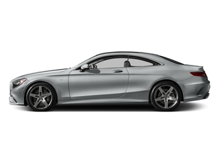 Iridium Silver Metallic 2017 Mercedes-Benz S-Class Pictures S-Class AMG S 63 4MATIC Coupe photos side view