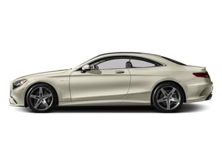 designo Diamond White Metallic 2017 Mercedes-Benz S-Class Pictures S-Class AMG S 63 4MATIC Coupe photos side view