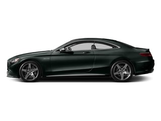 Emerald Green Metallic 2017 Mercedes-Benz S-Class Pictures S-Class Coupe 2D S63 AMG AWD V8 Turbo photos side view