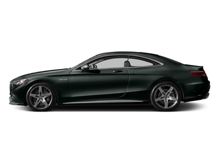 Emerald Green Metallic 2017 Mercedes-Benz S-Class Pictures S-Class AMG S 63 4MATIC Coupe photos side view