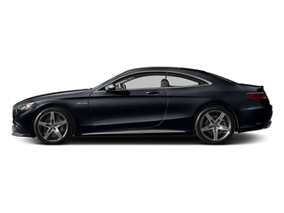 Anthracite Blue Metallic 2017 Mercedes-Benz S-Class Pictures S-Class Coupe 2D S63 AMG AWD V8 Turbo photos side view