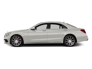 designo Magno Cashmere White (Matte Finish) 2017 Mercedes-Benz S-Class Pictures S-Class Sedan 4D S63 AMG AWD V8 Turbo photos side view
