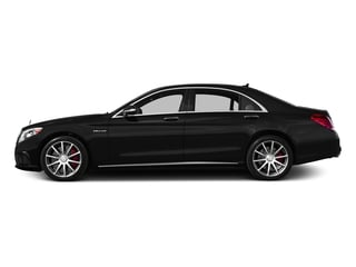 Obsidian Black Metallic 2017 Mercedes-Benz S-Class Pictures S-Class AMG S 63 4MATIC Sedan photos side view