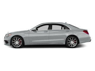 Iridium Silver Metallic 2017 Mercedes-Benz S-Class Pictures S-Class AMG S 63 4MATIC Sedan photos side view