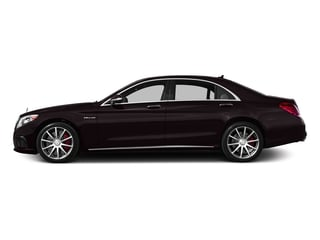 Ruby Black Metallic 2017 Mercedes-Benz S-Class Pictures S-Class Sedan 4D S63 AMG AWD V8 Turbo photos side view