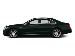 Emerald Green Metallic 2017 Mercedes-Benz S-Class Pictures S-Class AMG S 63 4MATIC Sedan photos side view