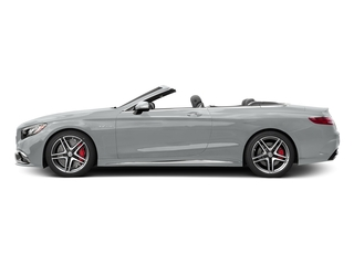 Iridium Silver Metallic 2017 Mercedes-Benz S-Class Pictures S-Class AMG S 65 Cabriolet photos side view