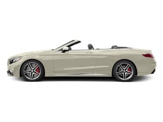 designo Diamond White Metallic 2017 Mercedes-Benz S-Class Pictures S-Class 2 Door Cabriolet photos side view