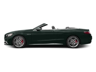 Emerald Green Metallic 2017 Mercedes-Benz S-Class Pictures S-Class AMG S 65 Cabriolet photos side view