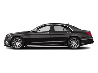 designo Mocha Black 2017 Mercedes-Benz S-Class Pictures S-Class 4 Door Sedan photos side view