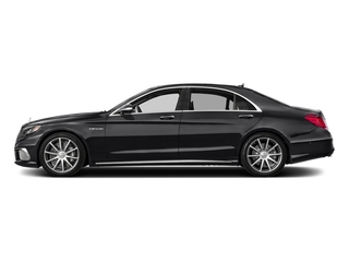 Black 2017 Mercedes-Benz S-Class Pictures S-Class 4 Door Sedan photos side view