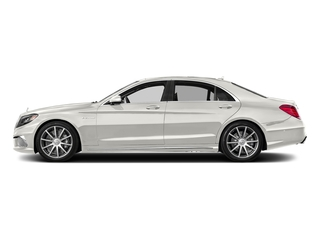 designo Magno Cashmere White (Matte Finish) 2017 Mercedes-Benz S-Class Pictures S-Class 4 Door Sedan photos side view