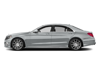 Iridium Silver Metallic 2017 Mercedes-Benz S-Class Pictures S-Class 4 Door Sedan photos side view