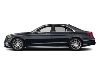 Anthracite Blue Metallic 2017 Mercedes-Benz S-Class Pictures S-Class 4 Door Sedan photos side view