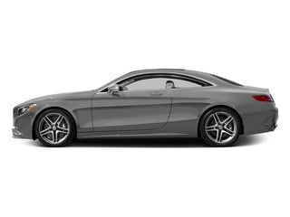 designo Magno Alanite Grey (Matte Finish) 2017 Mercedes-Benz S-Class Pictures S-Class 2 Door Coupe photos side view